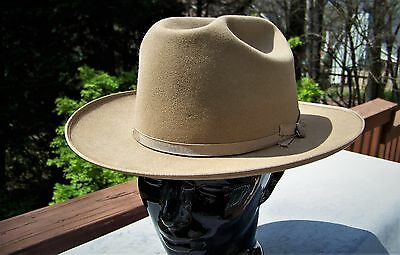 Vintage 50's/60's Stetson Open Road Fedora (7 1/8)