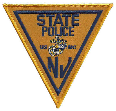 New Jersey State Police USMC Patch - United States Marine Corps - NEW