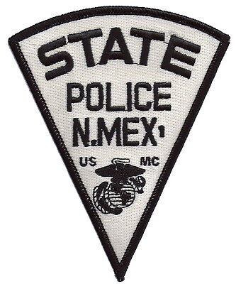 New Mexico State Police USMC Patch - United States Marine Corps - NEW