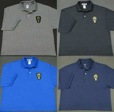 Ohio State Highway Patrol Patch Polo Shirt - MED to 3XL - 4 Colors - NEW