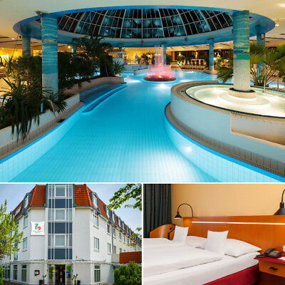 Wellness & Therme in Leipzig 4★ Hotel + Sachsentherme + Abendmenü für 2 Personen