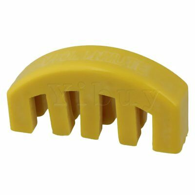 Yellow Fiddle Practice Mute Silencer Rubber 5 Prong for Violin Parts