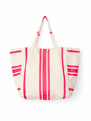 New Victoria's Secret Limited Edition Canvas Beach Tote Bag