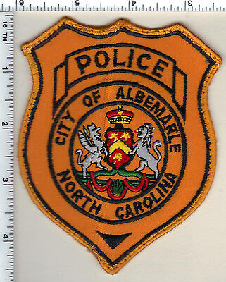 City of Albemarle Police (North Carolina) Shoulder Patch - new from 1995
