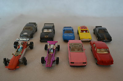 Vintage Collection Of 9 Matchbox & Corgi Toy Cars&