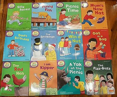New oxford (Level 2) x12 Read With Biff,Chip And Kipper Book collection