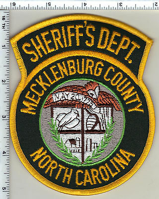 Mecklenburg County Sheriff's Dept. (North Carolina) Shoulder Patch from 1997