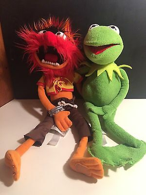 Disney Original Muppets Soft Toys, Kermit And Animal