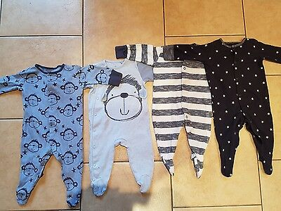 Next Boys Up To 3 Months Babygrows
