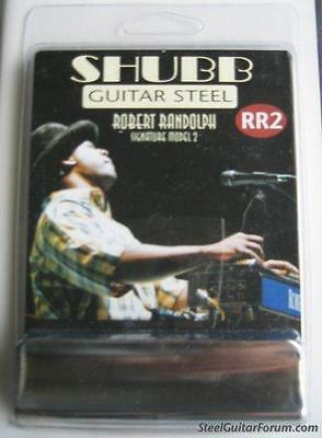 New Shubb RR2 Robert Randolph Signature Guitar slide NIB 7.5 oz