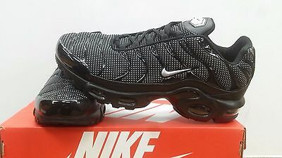 Nike Air Max TN Essentials - Men's Black/Dotted White UK Size CLEARANCE