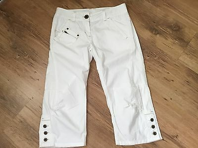 Next white girls trousers age 12