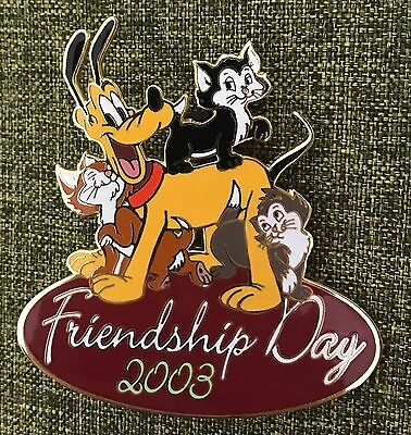 Disney Auctions - Friendship Day 2003 (Pluto & Cats) Pin 23849 Limited 100