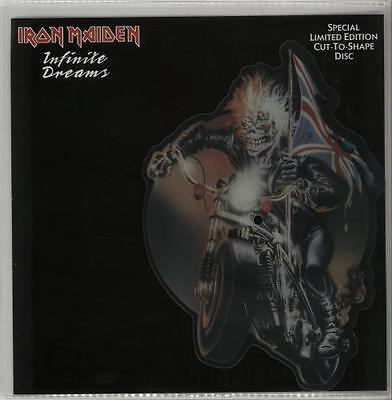 """Limited edition Iron Maiden Infinite Dreams 7"""" record picture disc"""