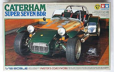 TAMIYA 10201 1/12 Caterham Super Seven BDR scale model *box damaged condition