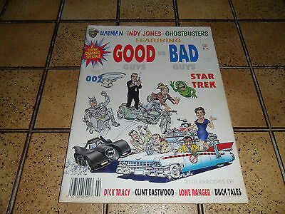 Cracked  Magazine  Comic  Us  Super 3 1989  Batman  Ghostbusters  Star Trek  007