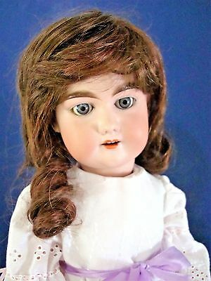 "HTF  Antique 23"" Bisque Head DUCHESS Composition wood Body marked 7 A Marseille"
