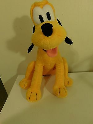 Disney Sitting Pluto Stuffed Toy     (B3)