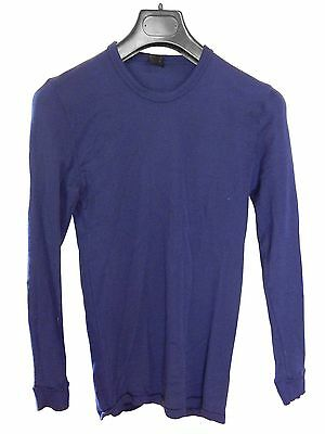 Blue Long Sleeve Base Layer by Mountain Design, Size Small