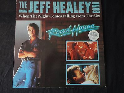 "Jeff Healey - When the Night Comes Falling - 12"" Vinyl - Roadhouse Film"