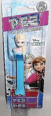 PEZ DISPENSER Disney's Frozen  ELSA SNOW QUEEN  [Carded]