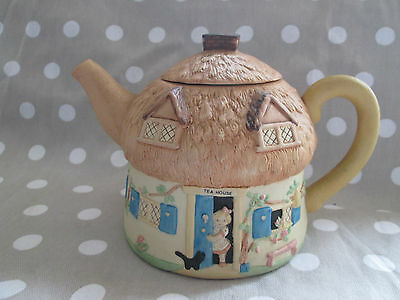mabel lucie attwell teapot 1990 memories of yesterday .TEA HOUSE / cottage,CAFE