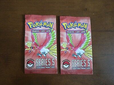 POP SERIES 5 Pokémon Booster Pack SEALED x2 Ultra Rare Gold Star Chance!
