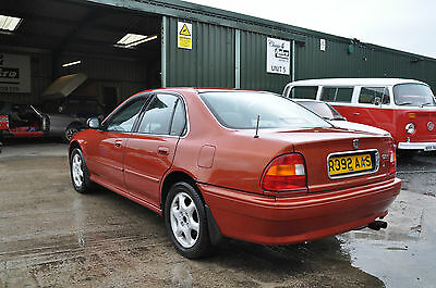 1998 Rover 620Ti Rare Kinversand Orange Twin Cam High Performance Future Classic
