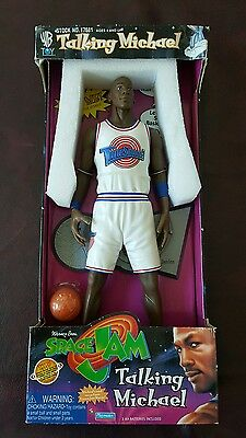 space jam talking Michael figure