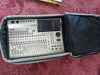 akai dps digital studio recorder with padded case