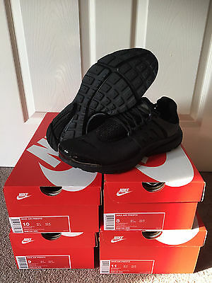 Men's Nike Air Presto Triple Black UK 7 8 9 10 11 - BNEW