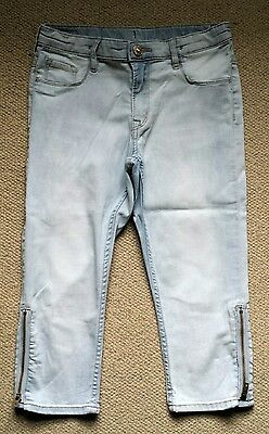**H&M**Cropped Skinny Jeans in age 10-11y**VGC**