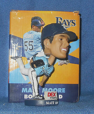 Tampa Bay Ray'S Matt Moore #55 Sga Bobblehead ~ New In Box