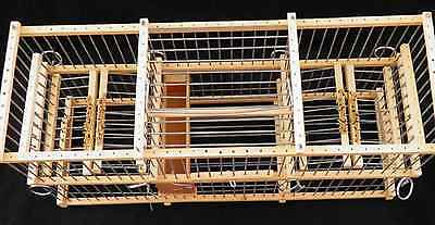 Trap Softly;  Double Balance Trap Cage For Birds // See the cage  video
