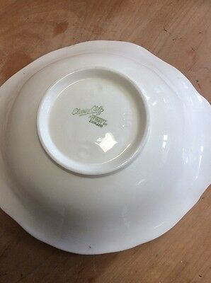 Clarice Cliff Vintage Salad Bowl Water lily Shape 999