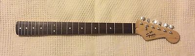 Squier By Fender Stratocaster Electric Guitar Neck Loaded With Tuners
