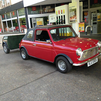 Classic Mini Convertible - Just passed MOT No advisories! plus a mini trailer!