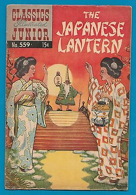 Classics Illustrated Comic Junior 1967 The Japanese Lantern  #857