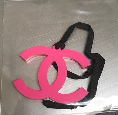 New VIP gift from Chanel beauty plastic logo charm