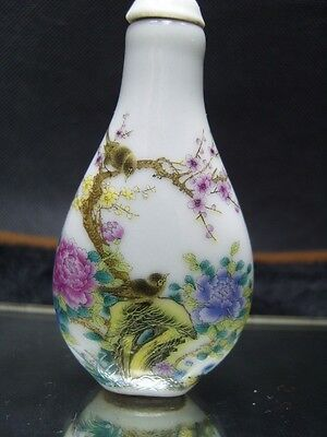 Chinese enamel Porcelain Snuff bottle               6