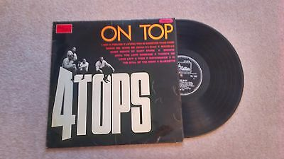 Four Tops on Top Album Motown Northern Soul