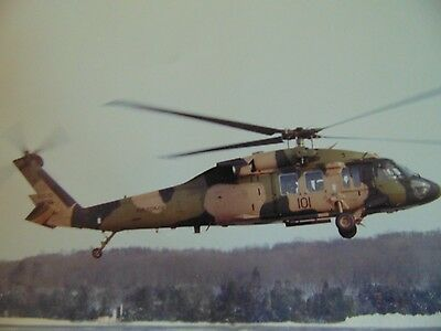 Vintage Military Helicopter Photo