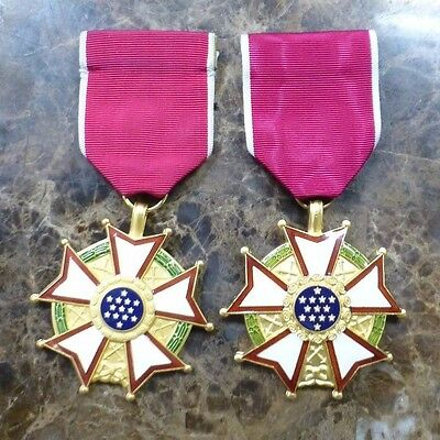 Lot of 2:  WW2 U.S. Military Legion of Merit Medal- Excellent Condition