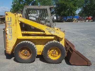 Gehl 4625 SX Skid loader Kubota 4 Cylinder Turbo Diesel Engine