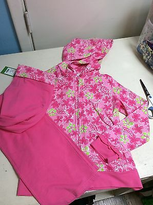 Lilly Pulitzer (NWT) Girls Sz. XL 12/14 Hoodie and Zoe Pant