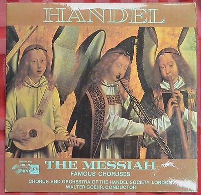 "Handel – The Messiah Famous Choruses 7"" 33rpm LP – SMS 522 – Ex"