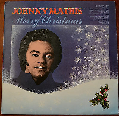Johnny Mathis, Percy Faith & His Orchestra ‎– Merry Christmas LP CBS 69217 – VG