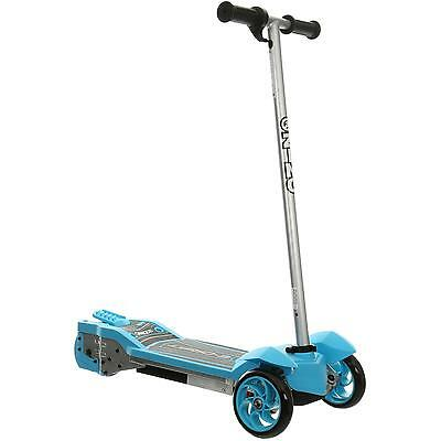 Zinc E-Drift Electric Scooter Blue 8+ years 8 MPH Fast Charge