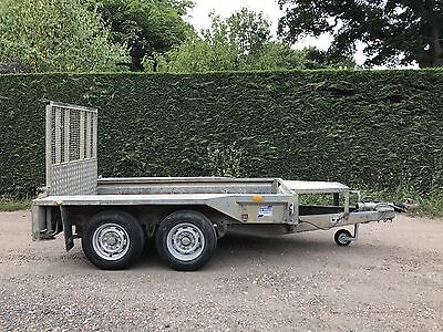 Ifor Williams GX84 2.7 Tonne Mini Digger Plant Trailer In Sussex *8x4*