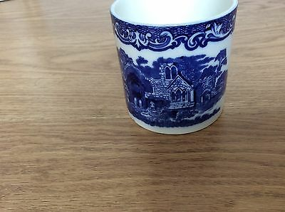 Antique Vintage  George Jones Abbey 1790 Blue and White Preserve Pot - No Lid